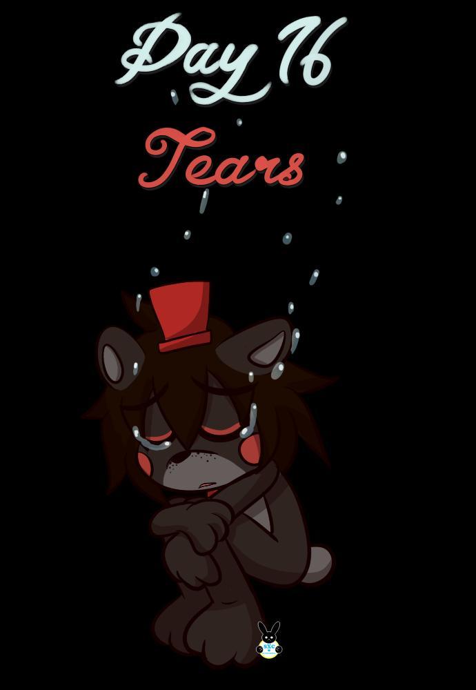 "August 16th- Tears ""Shhhhh…"" #fnaf #fnaf6 #fnafffps #lefty"