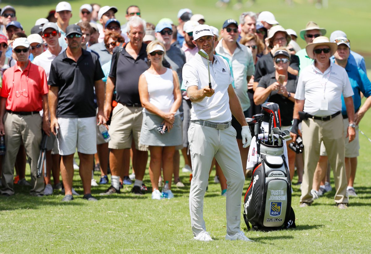 Dustin Johnson (75) is in a slump as the expanse between he and Brooks Koepka grows https://t.co/zP8IQ6pBSu https://t.co/BSaIY2Cprf