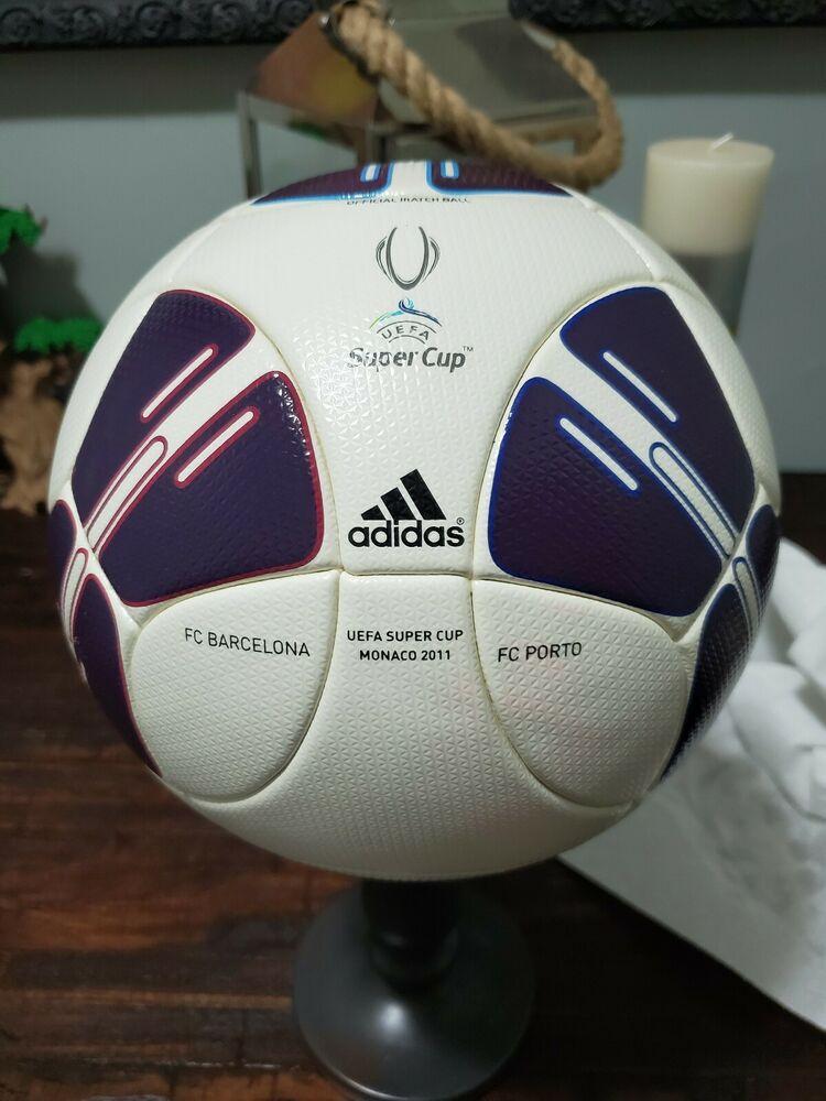 ADIDAS SOCCER MATCH BALL UEFA SUPER CUP 2011 FOOTBALL OMB BARCELONA - FC PORTO https://t.co/3mQrM2Gpqp https://t.co/QtvaL78ebU