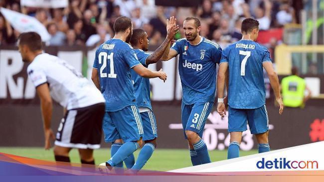 Detikcom على تويتر Juventus Berhasil Mengawali Kiprah Di Serie A 2019 2020 Dengan Kemenangan Gol Tunggal Giorgio Chiellini Membawa Mereka Meraih Poin Penuh Di Markas Parma Juventus Via Detiksport Https T Co Hxfwq3ej5b Https T Co 8td7itr34j