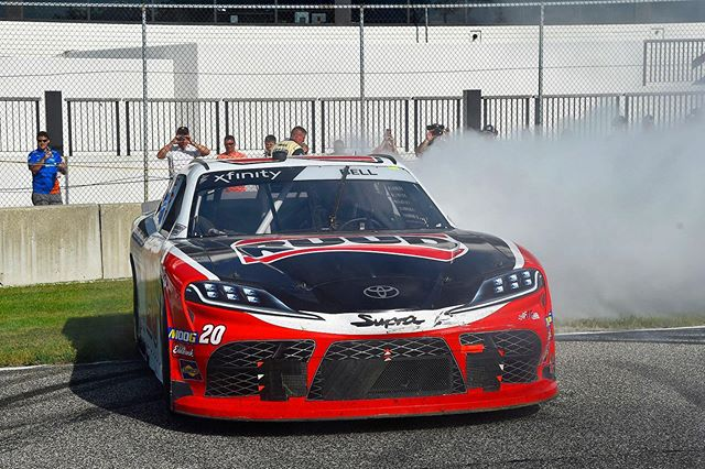 Bell masters Road America! @cbellracing captures his 6th win of 2019. #NASCAR #TeamToyota . Visit Coad Toyota Paducah at https://t.co/E7dI4MYlgK https://t.co/Fge19ySvYI https://t.co/2HGmtfd0vL