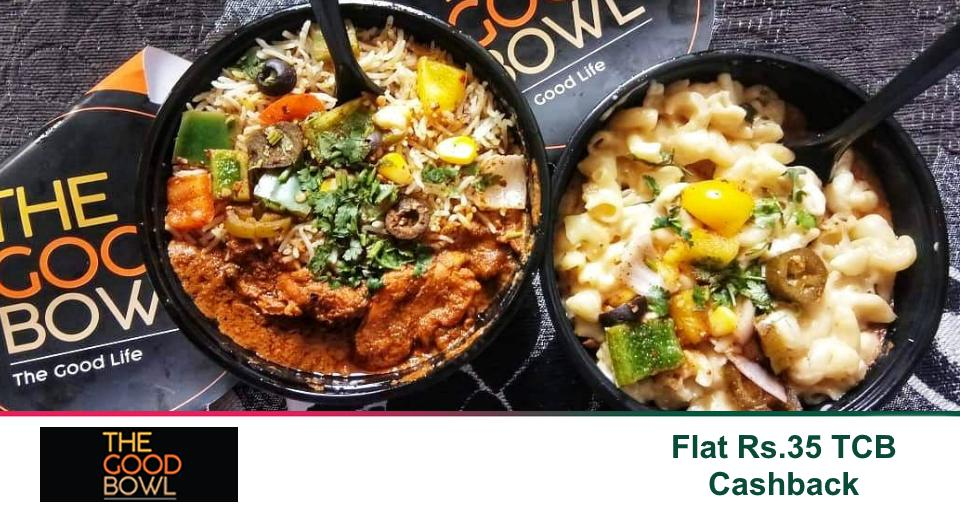 Flat 50% off on your meal bowl @thegoodbowl_ind! Fusion Bowls, Pasta Bowls, Desi Bowls & more all with Flat 50% off code + Extra Flat Rs.35 TCB #Cashback.https://www.topcashback.in/the-good-bowl/#thegoodbowl #thegoodlife #mythvsfact #fridayfacts #fridaymotivation #fridaythoughts
