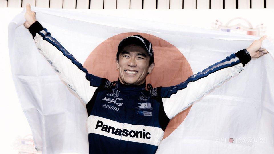 @IndyCar 第15戦ゲートウェイ @WWTRaceway で佐藤琢磨 @TakumaSatoRacer が周回遅れの最後尾からトップまで大躍進し、今季2勝目を達成。ショートオーバルでの初優勝が実現し、ついに #IndyCar の全タイプのコースを制覇しました! Photo by @kaz__3110 #IndyJP #Bommarito500