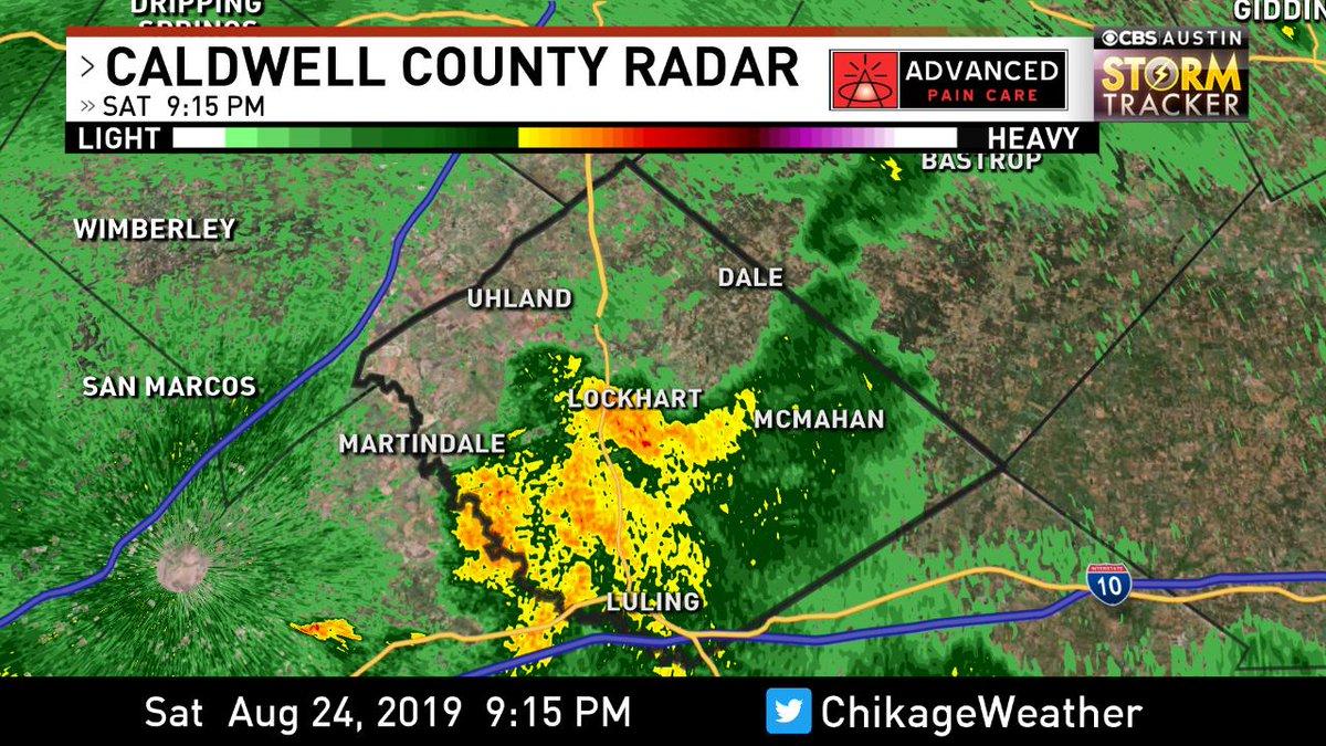 #Caldwell County Radar Check. Track the storms: https://t.co/ePJXLoI56j @cbsaustin  #CBSAustinWX https://t.co/jNR3NKs9I1