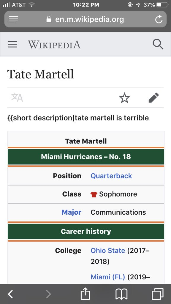 I mean they aren't wrong but damn.. #tatemartell https://t.co/yohQzWOxRh