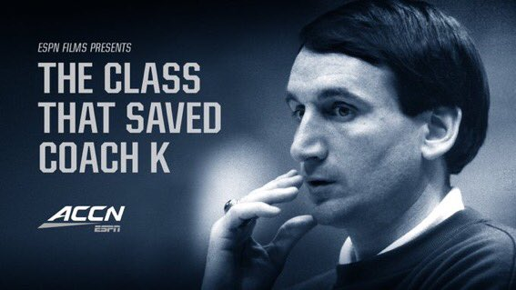 Heck of a week for @HockFilms. First, his 'The Class That Saved Coach K' aired on opening night of @accnetwork. Now, his 'Football Is Us' #CFB150 doc is airing on ESPN following #MIAvsUF. Both projects are terrific.