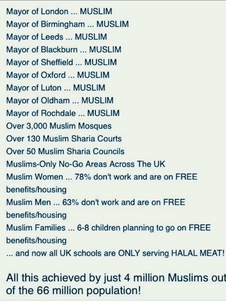 @TarekFatah This is present day UK. New Londonistan on its way in very close distant future.