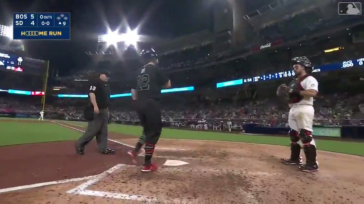 Brock Holt's Clutch HR in the 9th
