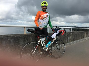 Lieutenant General Anil Puri has become first serving general of the Indian Army to complete France's oldest cycling event, 1,200-km Paris-Brest-Paris circuit. The 56 years old officer completed the circuit on 23 August by cycling non-stop for 90 hours, without sleep. <br>http://pic.twitter.com/3s2rUZvCjb