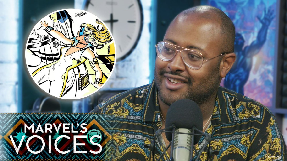 TV writer, critic, and host of pop culture podcast Keep It!, @ira Madison III reminisces with #MarvelsVoices host @AngeliqueRoche about collecting back issues of his favorite comics growing up. bit.ly/2ZqytP8