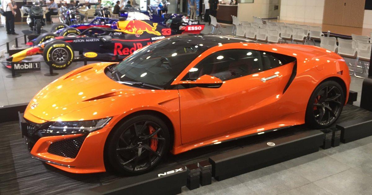 NSXはオレンジもやっぱり似合う✨✨#NSX#HondaNSX#Honda