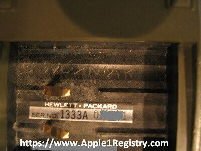 Chances are pretty good, that Woz' famous HP 65 calculator is found. The calculator he sold to finance building the Apple-1. Now a first picture is published at the Apple-1 Registry. The story including reference: https://t.co/fbYkwgnovg #Apple1 #Woz #Wozniak #Apple https://t.co/gMtuNDysgk