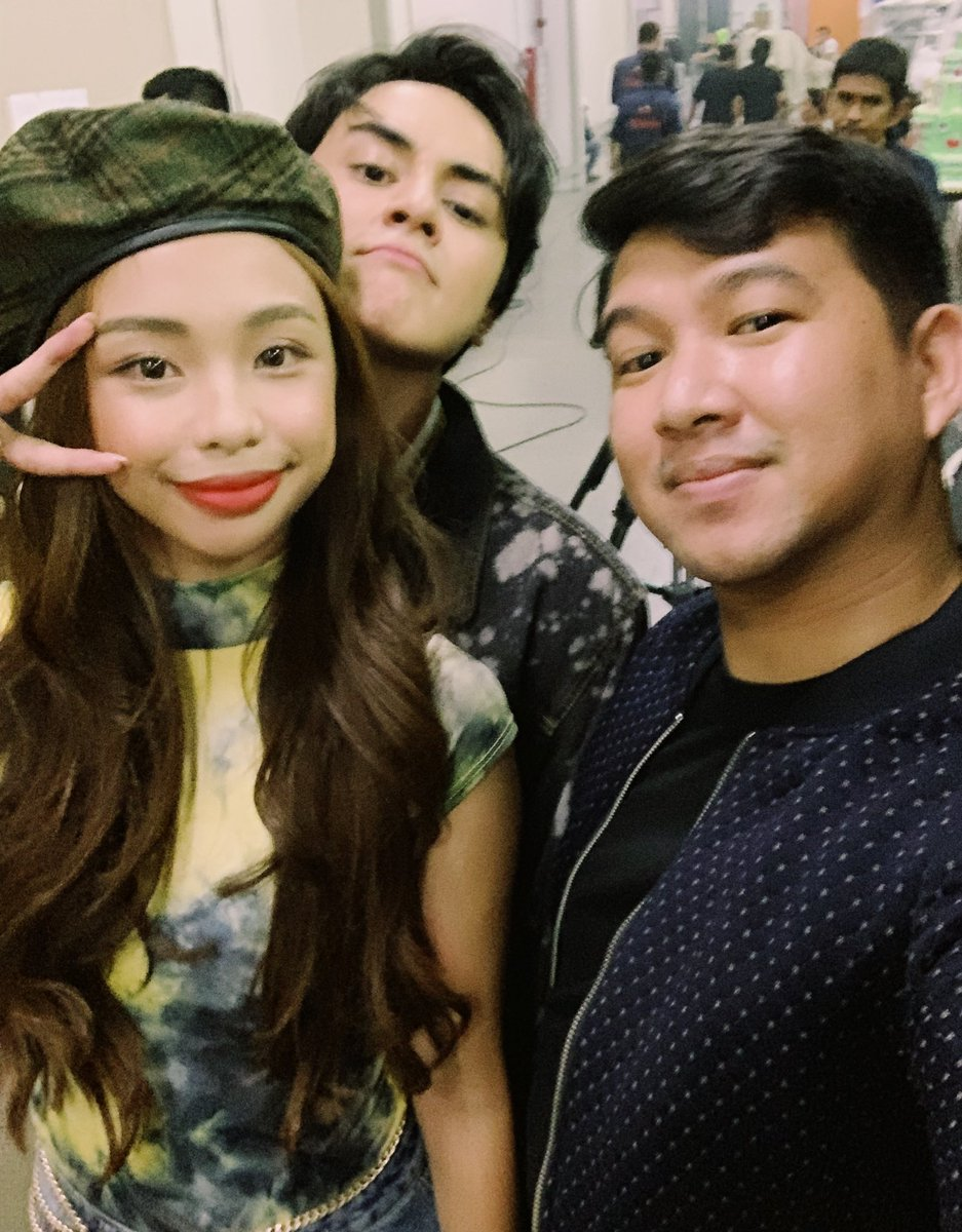 So happy to see my bbs again!!!   Watching #HNKPagpapatawad now! CONGRATS to you @Barber_Edward_ , @maymayentrata07, the whole cast and team of HNK!!! Grabe yung hardwork and dedication mo for this project Ed, be proud!!!  <br>http://pic.twitter.com/AHzO8t5PjV