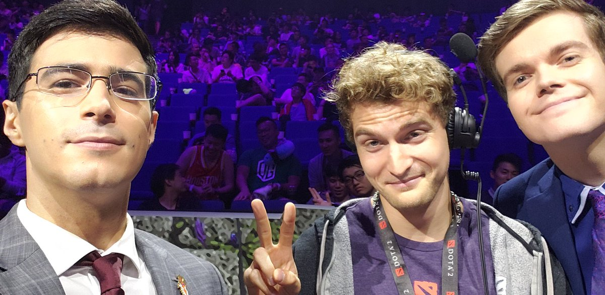 Cant wait to do finals soon between @OGesports and @TeamLiquid , blessed beyond belief to be here, and I got some cuties with me. Should be an absolutely epic series, and with an ending we wont ever forget crowning a two time champ. #ti9 <br>http://pic.twitter.com/9hnK3CttAl