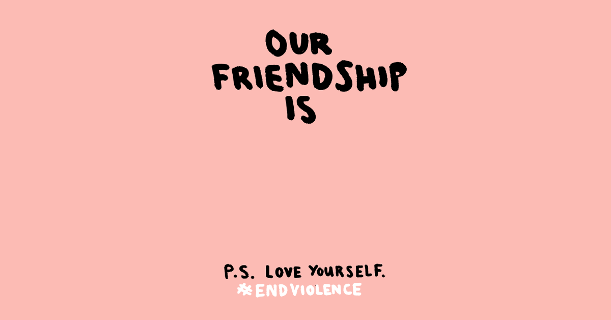 You told us that respect, support and kindness are essential to #ENDviolence online and in schools. We think so too. So join us and commit to kindness. Screenshot a template 👇, fill it in and share it with someone to brighten their day. #BTSLoveMyself @BTS_twt