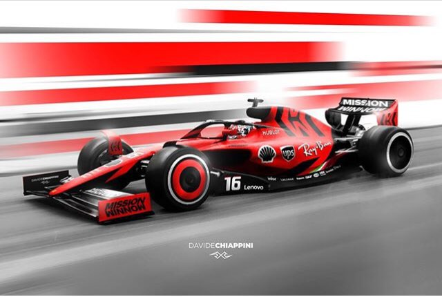 So what does everyone think of the proposed 2021 F1 design? Check out this awesome livery mock-up by Davide Chiappini (IG)! 😍 #F1 #F12021