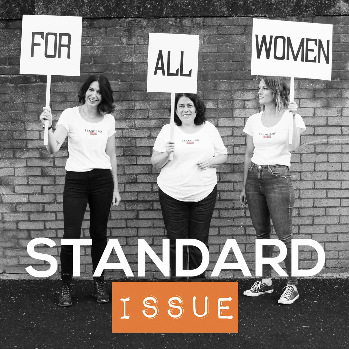 At a loose end this weekend? Listen to Standard Issue podcast!   🎧💕  ... Thank us later 😘  #standardissue #forallwomen #podcast