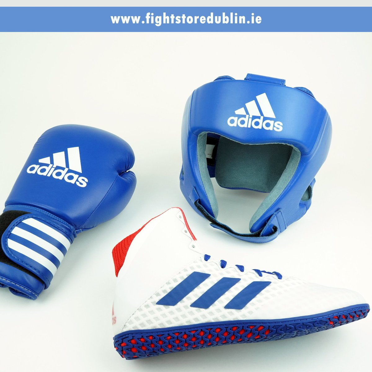 Boxing season is around the corner, get your blue or red training gear in store or online 👇 http://www.fightstoredublin.ie   #fightstoreireland #thefighterschoice®  #adidas #adidasboxing #boxinggloves #boxingstore #fightstore #irishboxing #HereToCreate #training #competition #boxing