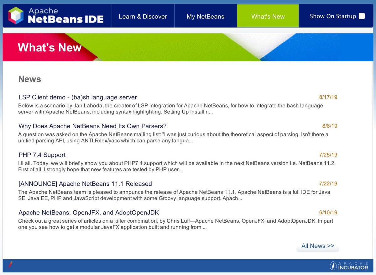 Apache NetBeans (@netbeans)   Twitter