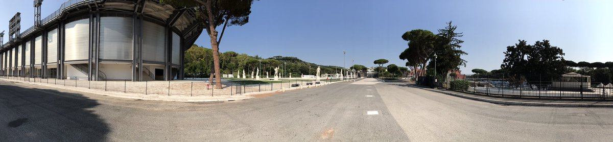 Great #sportslaw discussions this morning in the sunshine at #ForoItalico, home of the 1960 Olympic Park and the tennis Italian Open. Many sporting complexes at one location and to see #AlbertoAscari's plaque #f1 topped the morning off!
