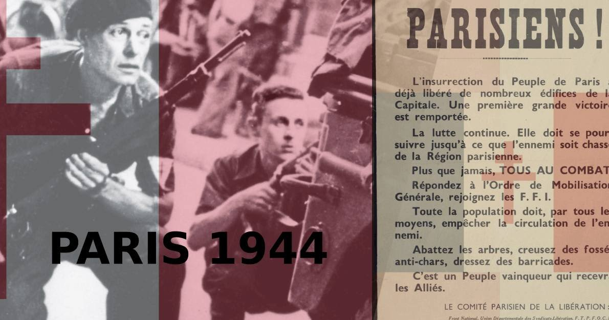 La libération de Paris en 1944 signifiait la libération du monde https://t.co/Bt71RWdWO2 https://t.co/yTt79xOG7f