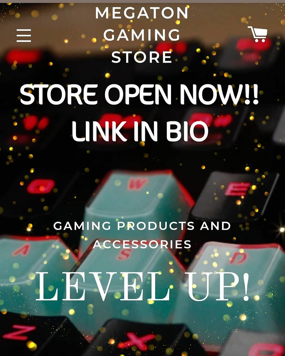 http://www.MegatonGamingStore.com <---- Open now!!! #facebook #mixer #youtube #youtuber #twitch #twitchtv #gamerguy #gaming #subscribe #subforsub #like #share #follow4follow #follow #gamer #live #playstation4 #playstation #xboxone #xbox #nintendo #nintendoswitch #pc #pcgaming #pcgamer