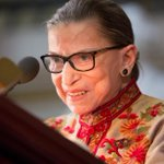 Image for the Tweet beginning: Justice Ruth Bader Ginsburg treated