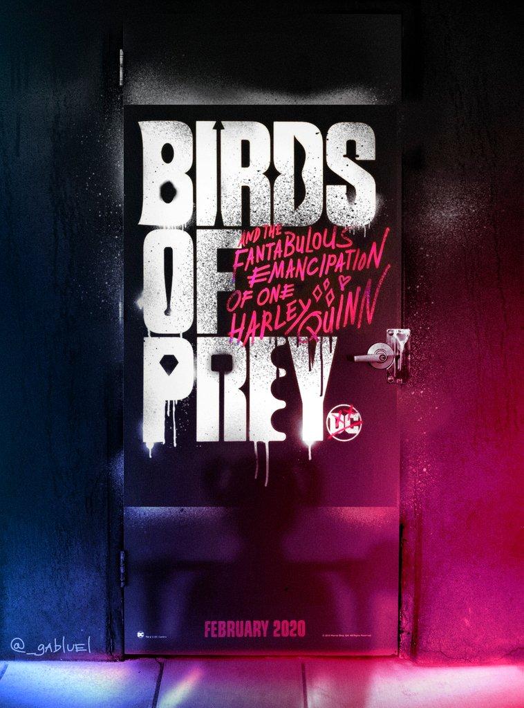 Posterspy Com On Twitter Birds Of Prey 2020 Alternative Movie Poster Uploaded By Artist Gabluel Https T Co Y7oys4kyj8 Birdsofprey Margotrobbie Movieposters Posterspy Https T Co Annk3mwrad