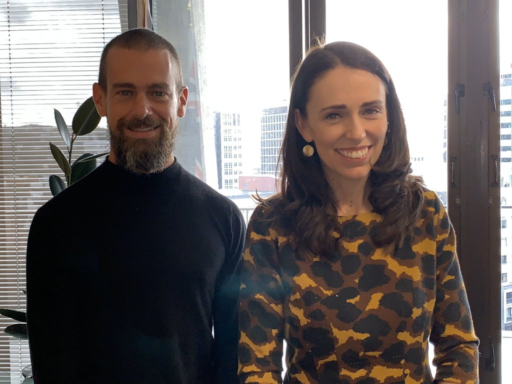 Met PM @jacindaardern at the Beehive today for a followup discussion on the Christchurch call. Also my first time in New Zealand. Kind folks and beautiful environment. <br>http://pic.twitter.com/XQWdPrHrf4