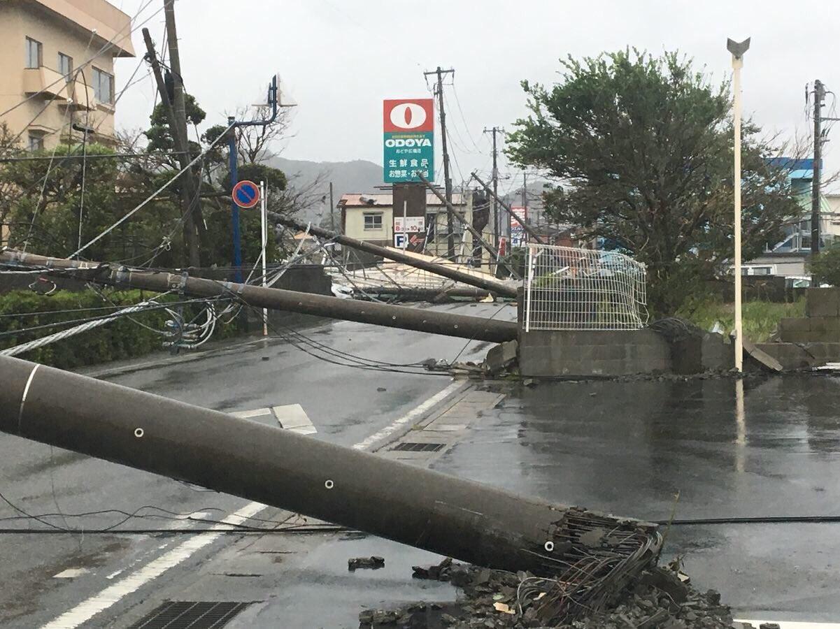 画像,千葉県鴨川市の状況です。仕事は通常営業です。帰りたいです。 https://t.co/i67vIsXMYW。
