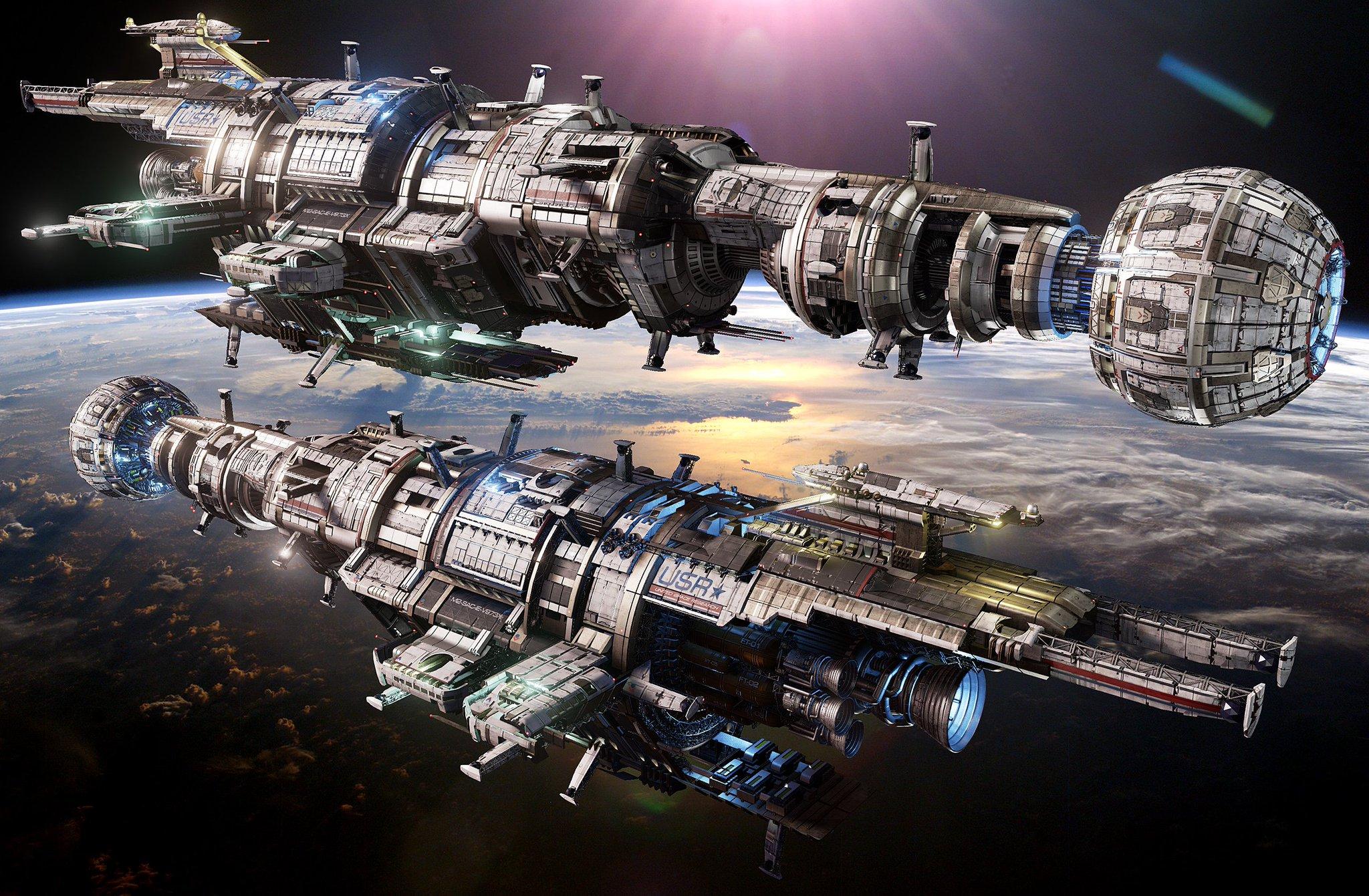 при картинка с разными космическими кораблями многочисленные поклонники