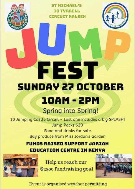 Image result for jump fest st michael's