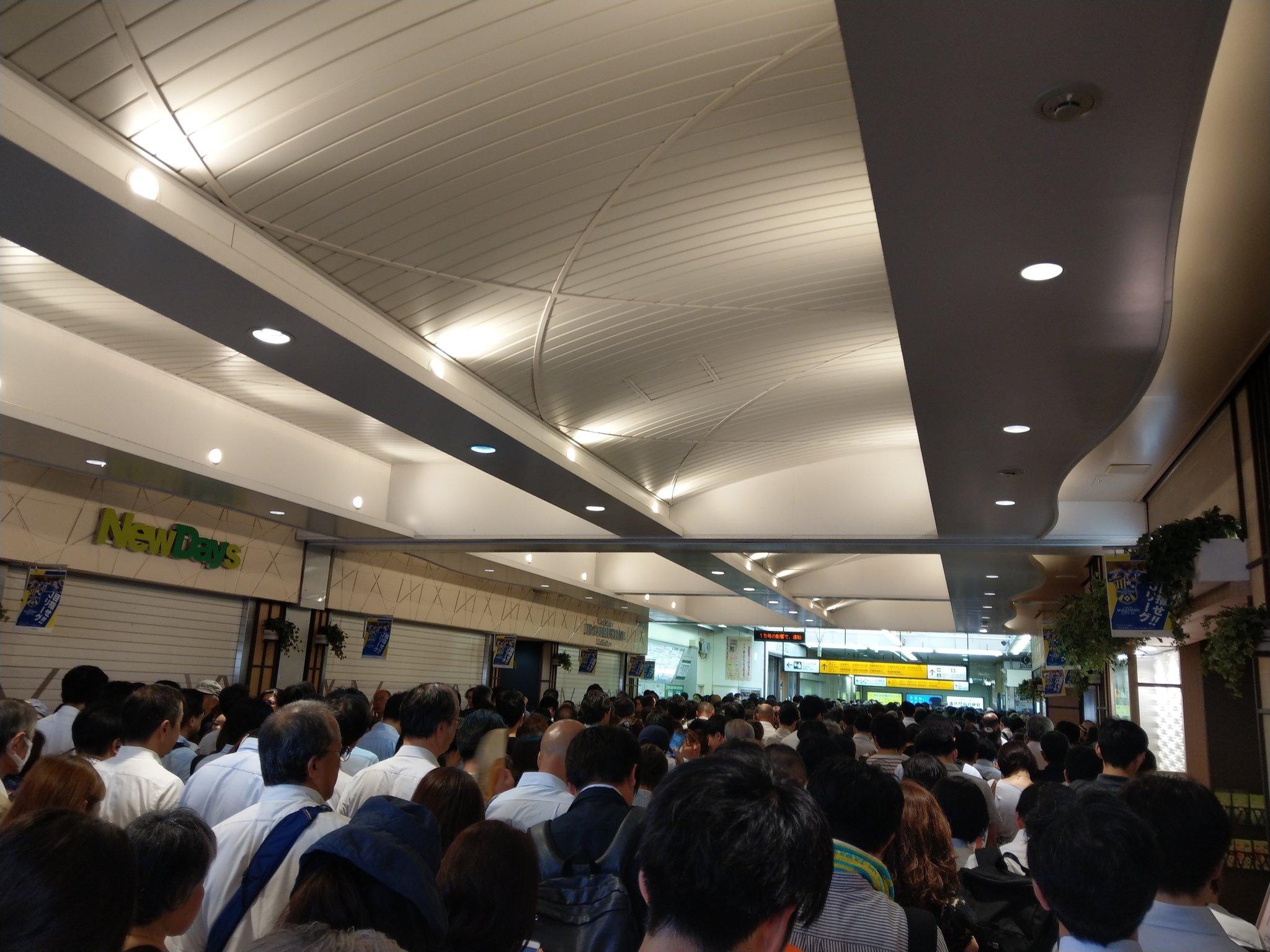 「台風15号 三鷹駅」の画像検索結果