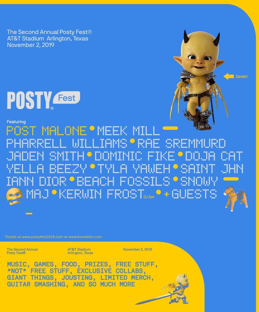 Posty Fest, festival de Post Malone.