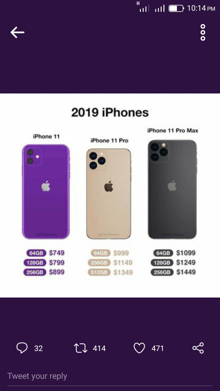 The iPhone 11 Pro, iPhone 11 Pro Max, And The iPhone 11 Released Date