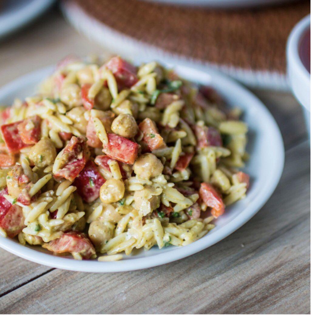 Souplantation On Twitter Our New Pesto Orzo Pasta Salad Is