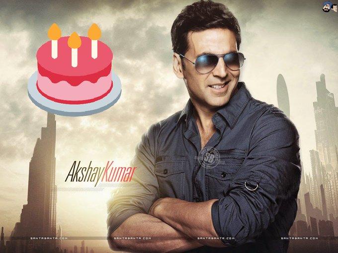 Meny meny return\s of the day wish you a very happy birthday akshay kumar sir