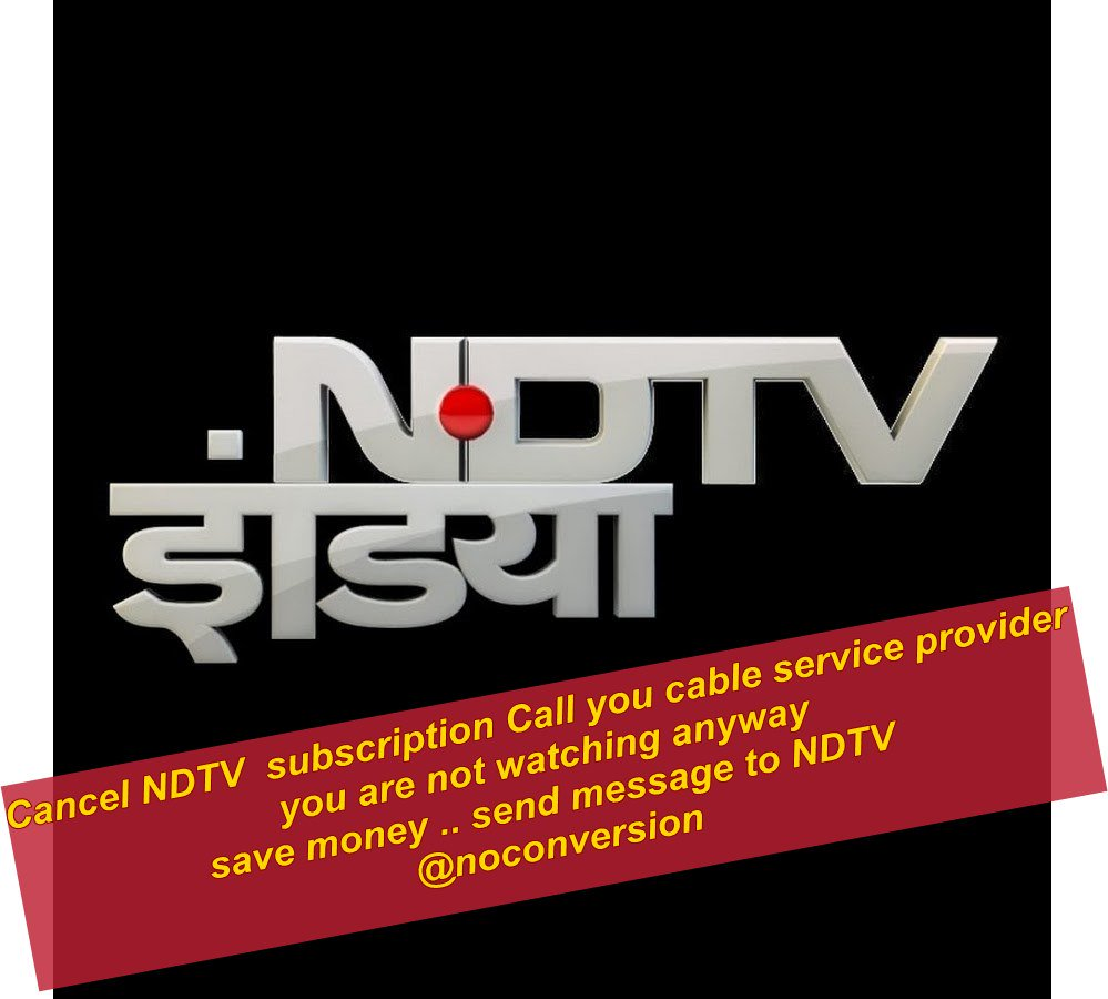 News about #ndtv on Twitter
