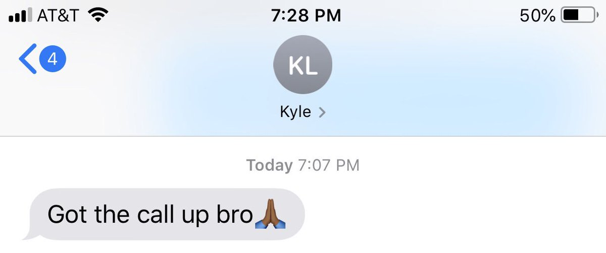 Huge shoutout to my old roommate Kyle Lewis for getting called up to the Mariners tonight! Words can't describe how happy I am to see him play in the big leaguesHe's about to be Seattle fans new favorite player 💪🏼