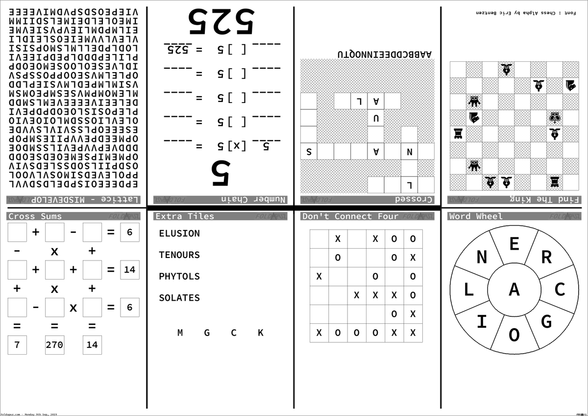 picture regarding Printable Chess Puzzles named foldapuz - @foldapuz Twitter Profile and Downloader Twipu