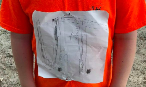 Boy Bullied for His Homemade UT Shirt Design Gets 4-Year Scholarship to University