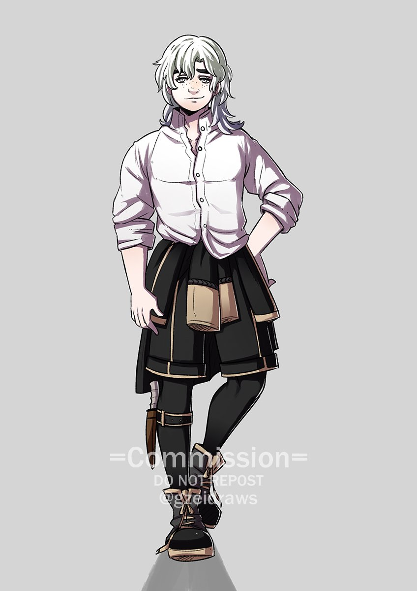 #FE3H OC Commission for 𝗞𝗮𝗶𝗹𝗲𝗻! *Please don't repost unless you're the client* https://t.co/RCORViGz1o