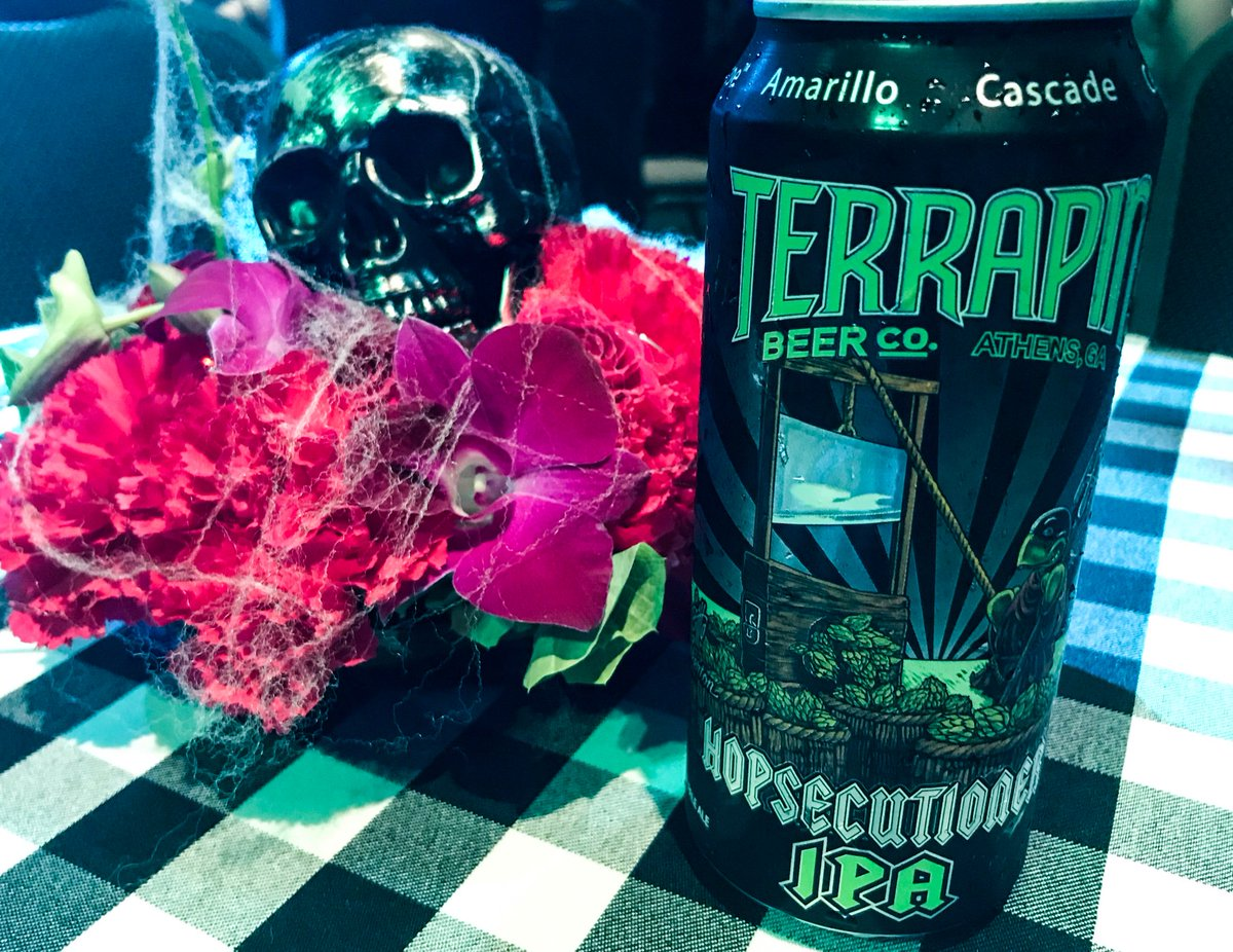 The spooky Season is starting.... are your prepared for the Hopsecutioner? #HHN29 #CraftBeer