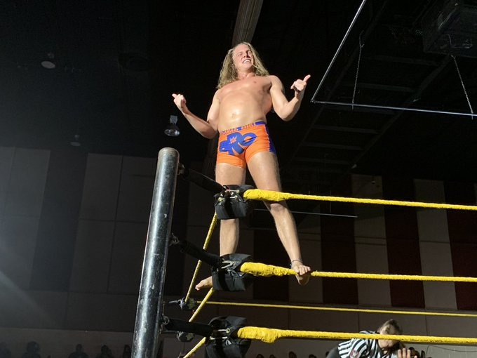 WWE NXT Live Event Results From Tampa (9/6): Tag Main Event, Forgotten Sons In Six-Man, Tegan Nox