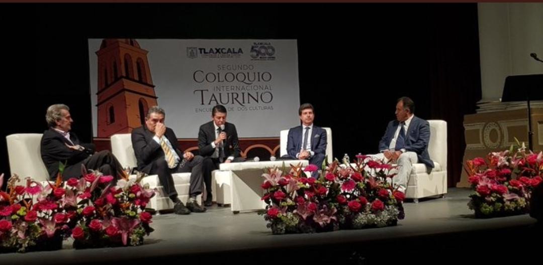 Muy agradecido por permitirme ser parte del Segundo Coloquio Internacional Taurino, en Tlaxcala. Gracias Tlaxcala.