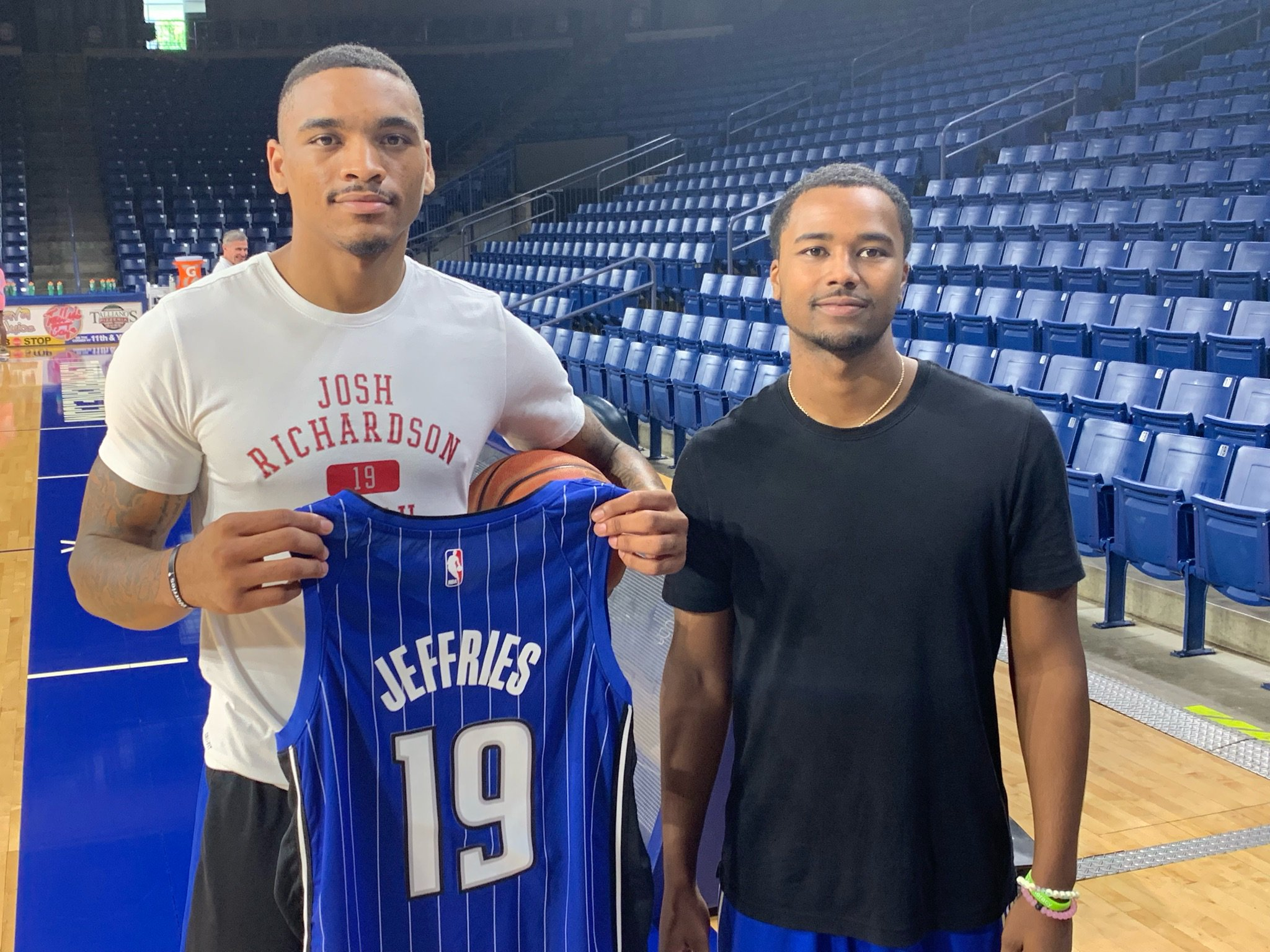 Tulsa Golden Hurricane NCAA Basketball: Glad to have @daquan_jeffries back on campus! Best of luck at training camp later this ...