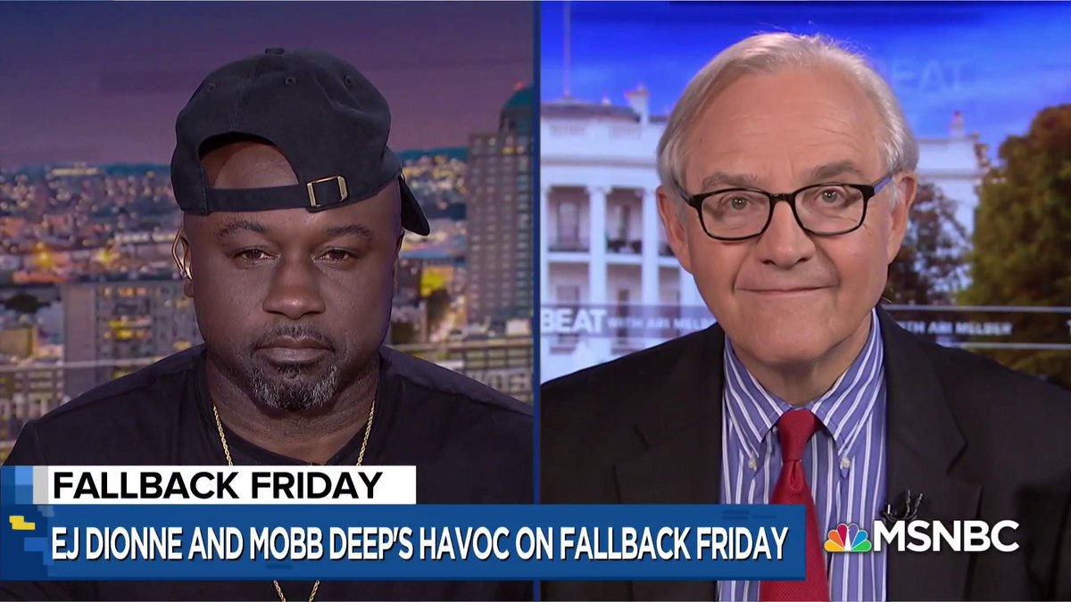 .@mobbdeephavoc and @EJDionne join this week's #FallbackFriday! on.msnbc.com/2lC5w0i