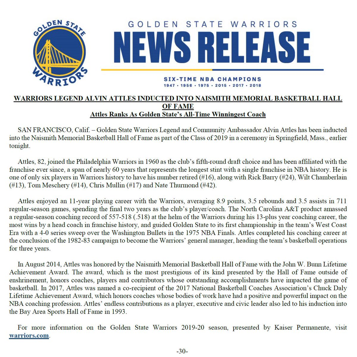 image regarding Golden State Warriors Printable Schedule referred to as Warriors PR (@WarriorsPR) Twitter