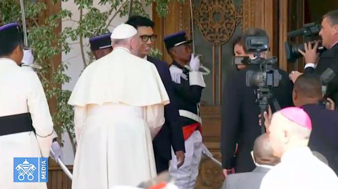 Francisco, y el presidente de Madagascar