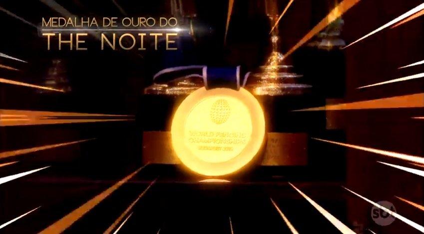 #TheNoite#TheNoitecomDaniloGentiliMais um prêmio para o programa ganhado na mão grande. 👏